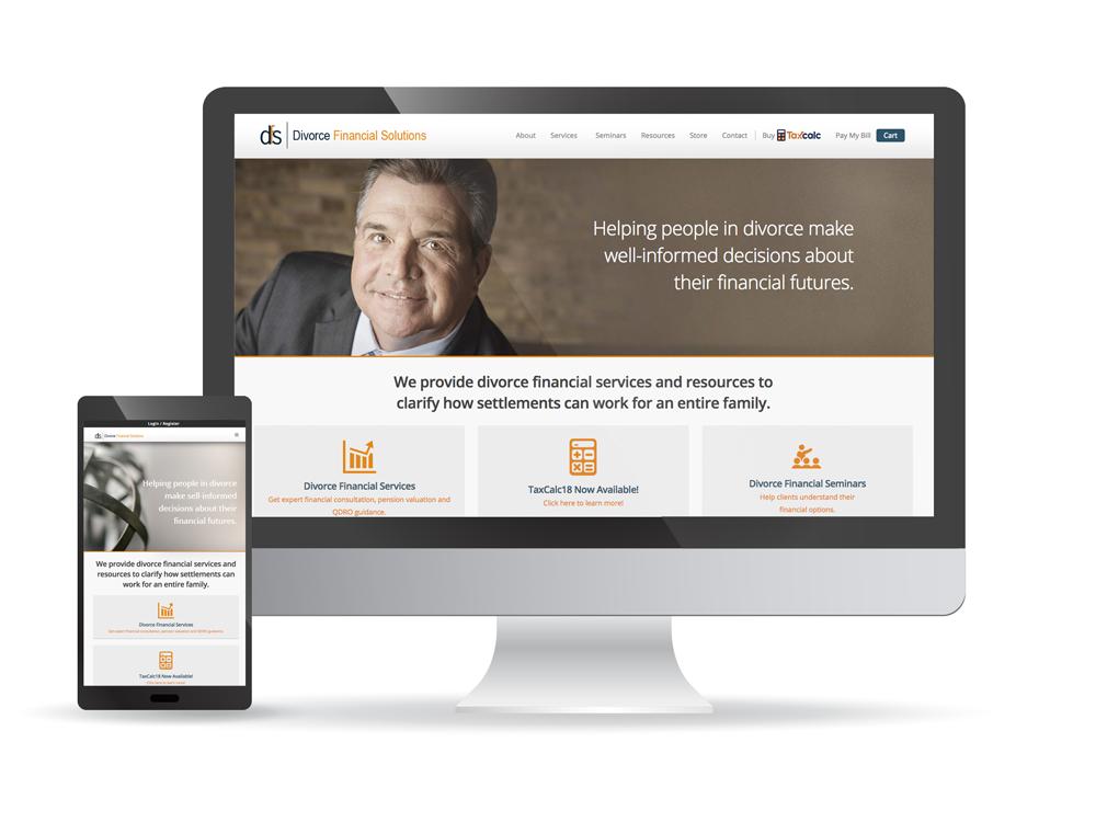 Divorce Financial Solutions Website