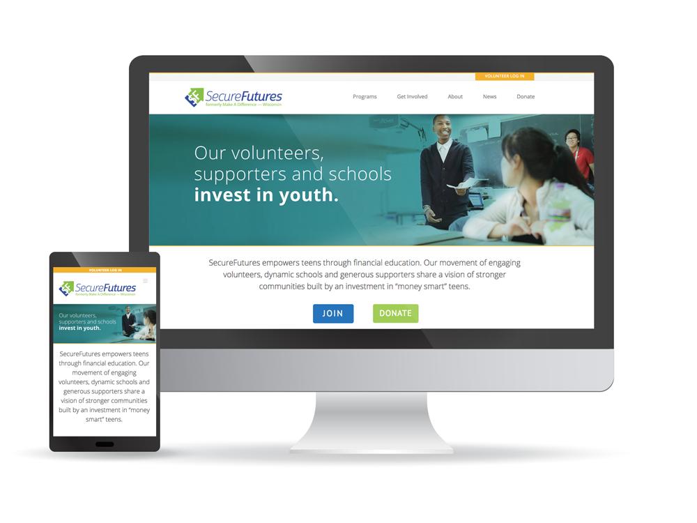 SecureFutures Website
